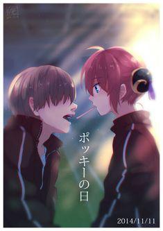 The artwork is so beautiful ❤️ Anime Love Couple, Couple Art, Cute Anime Couples, Anime Kiss, Anime Art, Anime Love Triangle, Happy Tree Friends, Gintama Wallpaper, Anime Crying