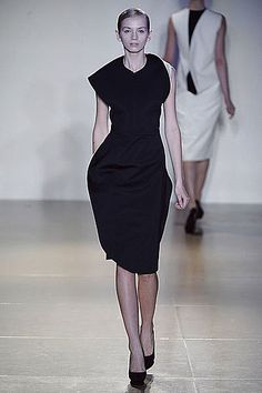 raf simons for jil sander spring 2009 collection