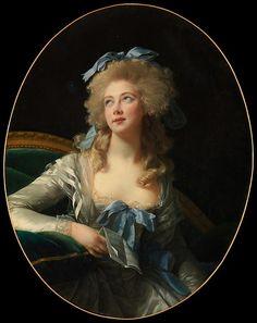 Élisabeth Louise Vigée Le Brun, Madame Grand (Noël Catherine Verlée, 1761–1835), 1783