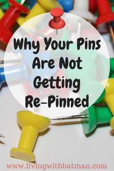 You set up your profile and your boards on Pinterest, created a pin strategy and you still aren't getting re-pinned? Let me show you why.