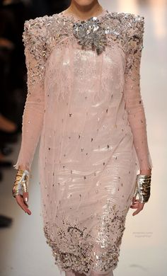 Chanel Haute Couture (runway details) ~like the detail and the quality, but the texture looks like it will cut you~