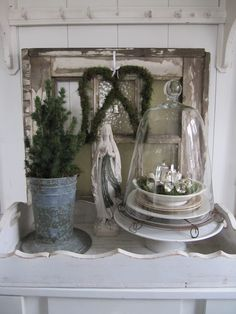 holiday vignette from fort lapin: A touch of Christmas