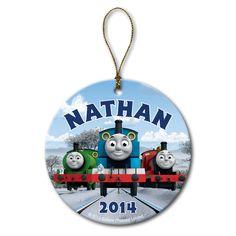 Thomas The Train Personalized Christmas Ornament Thomas