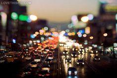Busy City Night city photography