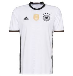 Get your own jersey of the German National Football Team from the Euro Cup 2016 by Adidas PERFORMANCE now - a must-have for fans of German soccer!