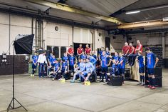 Yesterday, the Wuppertaler Sportverein e.V. was our guest for new portrait and team photos. Here is our look behind the scenes of the shoot. #RIEDEL