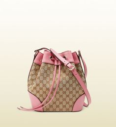 Gucci - original GG canvas bucket bag 381597FWCGX8971