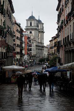 Plaza Mayor #Madrid Calle de Toledo, Ciudades del Mundo.
