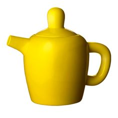 Little yellow teapot.