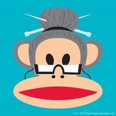 Paul Frank, Iphone 6 Wallpaper, Cartoon, Monkey, Artist, Display, Jumpsuit, Monkeys, Artists