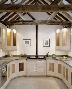 Barn Kitchen Designs | DigsDigs