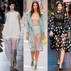 The Top 11 Trends For Spring 2014- Sheer Evidence