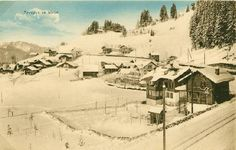 Arveyes Ski, Outdoor, Hill Country Resort, Antique Post Cards, Tourism, Outdoors, Skiing, Outdoor Games, Outdoor Living