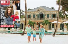 #TommyHilfiger and son wearing our parent brand #PinkHouseMustique and his wife Dee wears #LottyB
