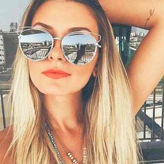 Frame Style Fashion Women Sunglasses - 7 Colors - Awesome World - Online Store  - 4