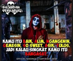 Quotes Indonesia, Joker Quotes, Funny Cute, Motivational Quotes, Love You, Memes, Scooby Doo, Editor, Darkness