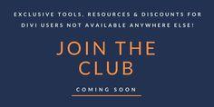 Divi Membership Site - Exclusive Divi Resources for Divi Theme Users   Divi Academy