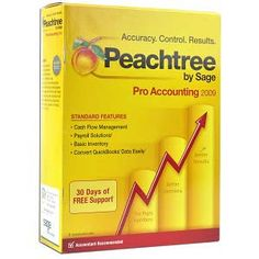 Sage Peachtree Pro Accounting 2009 Software for PC