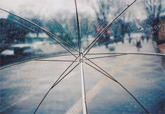 Image uploaded by le. Find images and videos about photography, rain and umbrella on We Heart It - the app to get lost in what you love. Transparent Umbrella, Red Umbrella, Under My Umbrella, See Through Umbrella, Cherbourg, Rain Photo, Frozen In Time, Lomography, Beautiful Moments