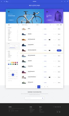 Buy Agora – eCommerce PSD Template by Svetlov on ThemeForest. Agora – a modern, bright and memorable eCommerce template.Users will love Your site because it gives them a uni. Ecommerce Website Design, Web Ui Design, Page Design, Dashboard Design, Design Design, Graphic Design, Website Layout, Web Layout, Ecommerce Template