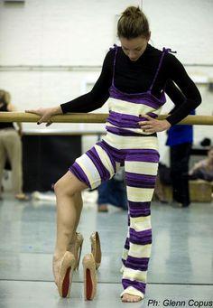 """Designer Tutus for the English National Ballet: Christian Louboutin""""s ballet slipper...."""