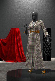 Marvelous Designer, Daz 3D Studio, Fashion dresses, fashion