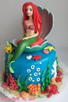 Mermaid - Cake by Meri Little Mermaid - Cake by Meri Little Mermaid - Cake by Meri Mermaid Barbie Birthday Cakes Little Mermaid Birthday Cake, Barbie Birthday Cake, Little Mermaid Cakes, Mermaid Cupcakes, Little Mermaid Parties, The Little Mermaid, Dolly Varden Cake, Ariel Cake, Mermaid Barbie