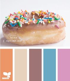 With sprinkles colors-design-seeds