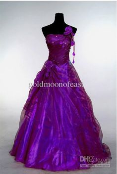 purple and white wedding dresses - Google Search