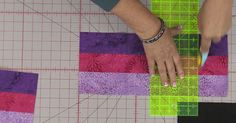 Jenny Starts This Gorgeous Quilt With 2.5 Inch Strips…