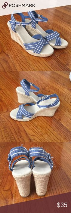 Brand new wedges Brand new wedges upper and fabric outsole balance man made material Nautica Shoes Wedges