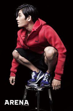 Dong Jun - Arena Homme Plus Magazine September Issue 13 Korean Men, Korean Actors, Kim Dong Joon, No Min Woo, Stylish Mens Outfits, Asian Celebrities, Heechul, Kdrama Actors, Asian Boys