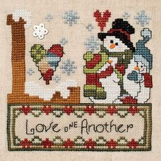 """June 2013 Pattern of the Month """"Love One Another"""""""