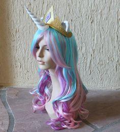 BestPinterest: Princess Celestia costume wig - my little pony - friendship is magic.