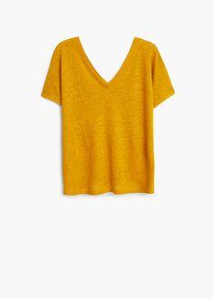 T-shirt linho