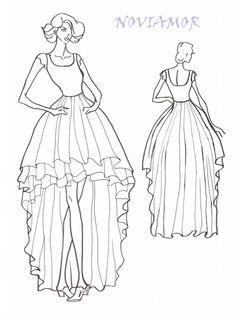 Concepteur de Noviamor peut concevoir une robe de mariée unique pour vous