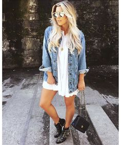 Boots outfit Look Bolsa Transversal + Ankle Boot Western Look Bolsa Transversal + Ankle Boot Western Mode Outfits, Fall Outfits, Summer Outfits, Casual Outfits, Fashion Outfits, Jacket Outfit, Outfit Style, Looks Chic, Casual Looks