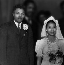 Mandela and First Wife - Evelyn Mase - One of the most famous couples in African history, the pair were married in February of 1958. Contrary to popular belief, Winnie was not Nelson Mandela's first wife, nor would she be his last.