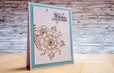 Hi folks! Today I grabbed one of my favorite floral stamp sets, which is Hennah Elements from Altenew. Love, love, love. These images are go...