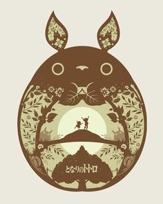 My Neighbour Totoro by Michael Rogers