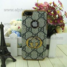 Luxury Gucci iPhone 5 Case iPhone 5 Cover Blue