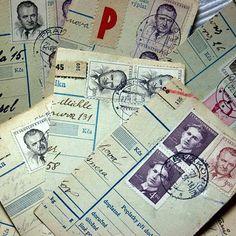 1950s Czechoslovak Document Snippets for by 3rdshelffromthetop, $4.00