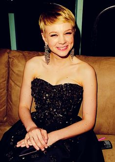 Carrie Mulligan- this hair is as cute as it gets.