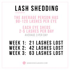 This is why we need lash fills every two to three weeks and dont forget to wash once and comb twice daily - whats meant to shed will shed! - September 28 2019 at Applying False Eyelashes, Applying Eye Makeup, False Lashes, Lash Quotes, Eyelash Extensions Styles, Eyelash Sets, Eyelash Glue, Lash Room, Eyelash Growth