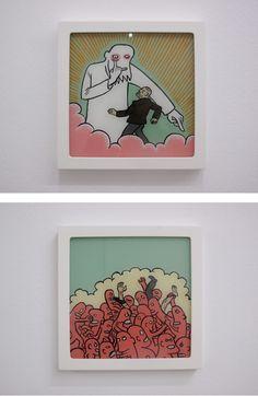 Conrad Botes: love these Anton, Digital Illustration, Pop Art, Contemporary Art, Pony, Street Art, Sketches, African, Display