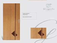 # handmade wooden door_code: Angola / by Georgiadis furnitures