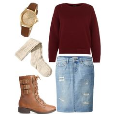 """""""Pentecostal outfit for fall/winter #3"""" by jackieecruz on Polyvore I Fall color combo <3..."""