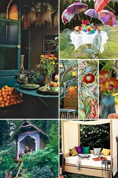 boho by Christy Thomas Color inspirations BoHo Style...