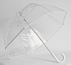 Fiberglass Frame Clear Bubble Umbrella by Bubble Umbrella Collection. $29.99. The fiberglass bubble umbrella is both stylish and sturdy. The fiberglass frame construction provides extra for windy days.