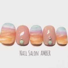 #nail #nails #nailart #instanails #amber #サンプルチップ #ネイル #ネイルアート #ジェルネイル#スカルプ#春ネイル#キャンドルネイル#八王子ネイルサロンアンバー #八王子 (Nail Salon AMBER)